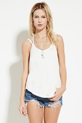 Forever 21 Strappy Cami Ivory