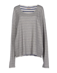 Levi's Made And Crafted Sweaters Light Grey