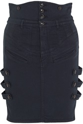 Isabel Marant Noor Stretch Denim Mini Skirt