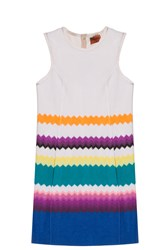 Missoni Zig Zag Shift Dress Beige