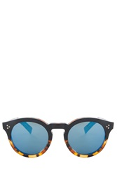 Illesteva Leonard Ombre Sunglasses Brown