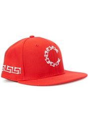 Crooks And Castles Corpse Red Embroidered Twill Cap