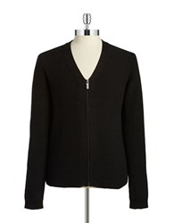 Strellson V Neck Cardigan Black