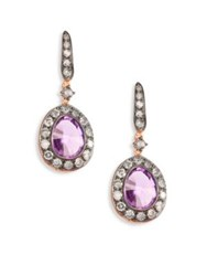 Annoushka Dusty Diamonds Amethyst Drop Earrings