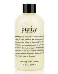 Philosophy Purity Made Simple Facial Cleanser 8 Oz No Color