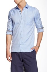 Ted Baker Champp Long Sleeve Extra Trim Fit Shirt Blue