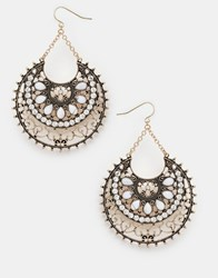 Aldo Sassola Drop Earrings Gold