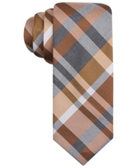 Alfani Spectrum Central Large Plaid Slim Tie