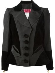 Christian Lacroix Vintage Skirt And Jacket Suit Black