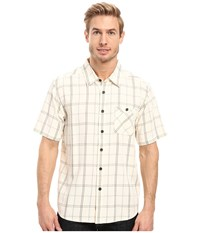 Quiksilver Half Hitch Pristine Men's Short Sleeve Button Up Neutral