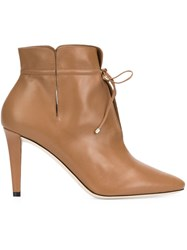 Jimmy Choo 'Murphy 85' Ankle Boots Brown