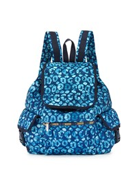 Le Sport Sac Lesportsac Voyager Printed Flap Top Backpack Tulum