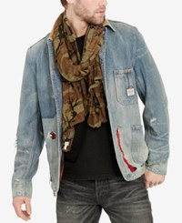 Denim And Supply Ralph Lauren Men's Distressed Jacket Black