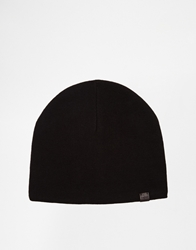 Esprit Fleece Lined Beanie Black