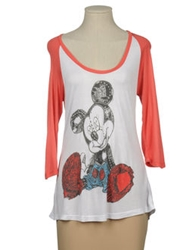 Disney Couture Short Sleeve T Shirts White