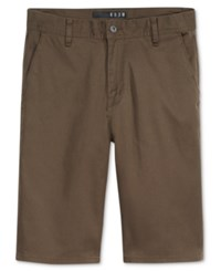 Kr3w Men's Klassic Chino Shorts Dark Drab