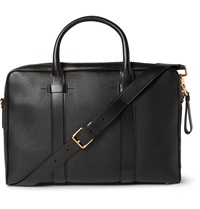 Tom Ford Grained Leather Briefcase Black