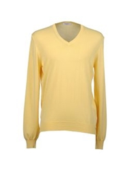 Gran Sasso V Necks Yellow