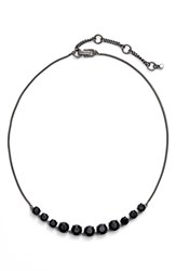 Women's Kent And King Jeweled Frontal Necklace