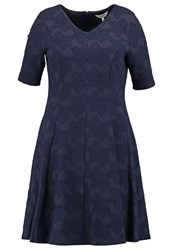 Studio 8 Debbie Jersey Dress Navy Dark Blue
