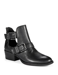 The Sak Textured Ankle Boots Black