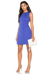 Kate Spade Cutout A Line Dress Blue