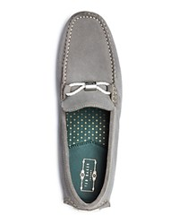 Ted Baker Carlsun Suede Driving Loafers Light Grey