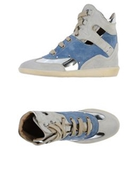Manas High Tops And Trainers Light Grey