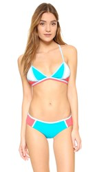 Ondademar Sporty Blocks Bikini Top