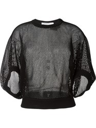 Givenchy Fishnet Top Black