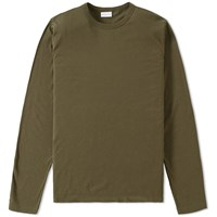 Dries Van Noten Long Sleeve Hayden Tee Green