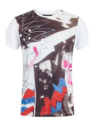 House Of Holland Rave T Shirt White