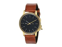 Miansai M12 On Leather Strap Vintage Cognac Watches Brown