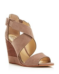 Vince Camuto Milena Strappy Wedge Sandals Grey