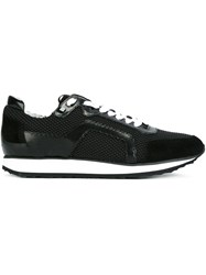 Pierre Hardy Mesh Layer Low Top Sneakers Black