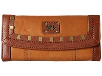 The Sak Iris Flap Wallet Tobacco Staples Wallet Handbags Brown