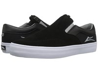 Lakai Owen Black Grey Suede Men's Skate Shoes