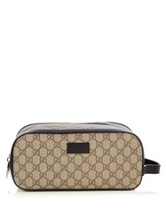 Gucci Eden Double Zip Wash Bag Brown Multi