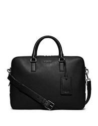 Michael Kors Bryant Leather Briefcase Black
