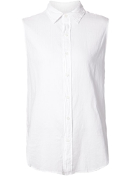Current Elliott Sleeveless Shirt White