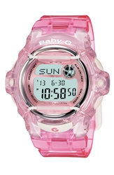 Baby G Jelly Watch 46Mm Pink