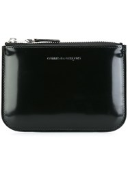 Comme Des Garcons Wallet Top Zip Coin Purse Black