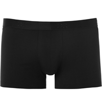 Derek Rose Jack Pima Cotton Blend Boxer Briefs Black