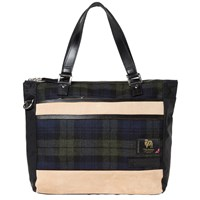 Master Piece Density Wool Tote Blue
