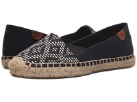 Sperry Katama Cape Prints Black White Tribal Women's Slip On Shoes