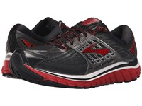 Brooks Glycerin 14 Black High Risk Red Anthracite Men's Running Shoes
