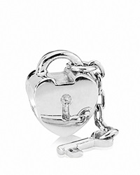 Pandora Design Pandora Charm Sterling Silver Key To My Heart Moments Collection
