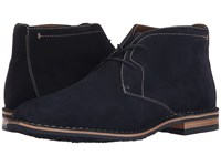 Trask Brady Navy Water Resistant Suede Men's Shoes