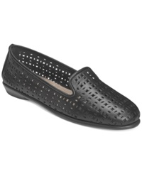 Aerosoles You Betcha Flats Women's Shoes Black Leather