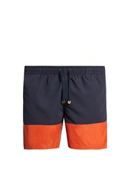 Timo Long Prep Swim Shorts Navy Multi